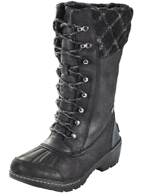 Sorel Whistler Tall Boots Women Black/Dark Stone